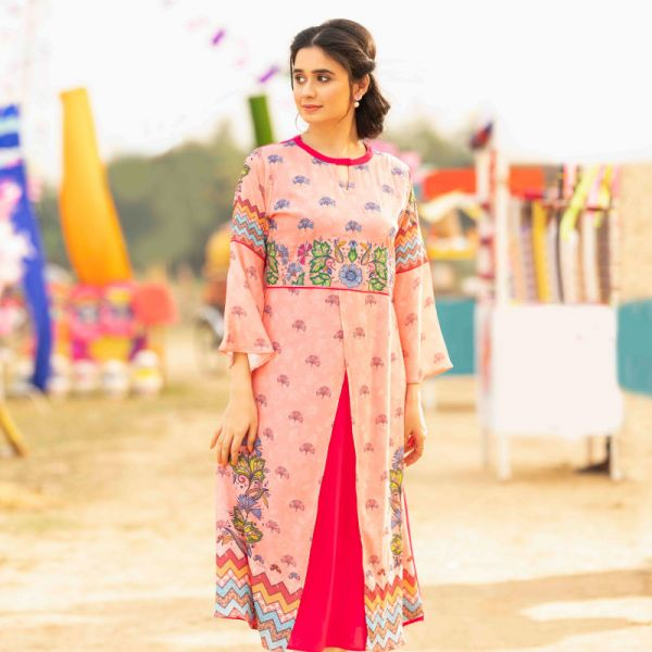 W Digital Printed Kameez BF