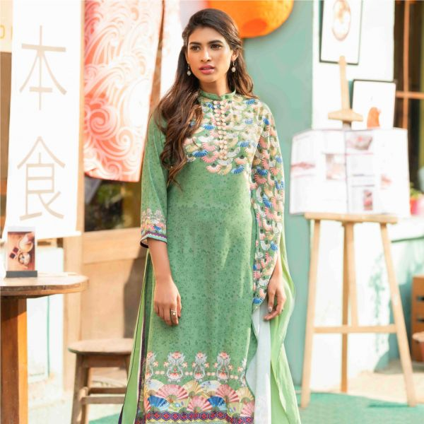 W Digital Printed Kameez BE