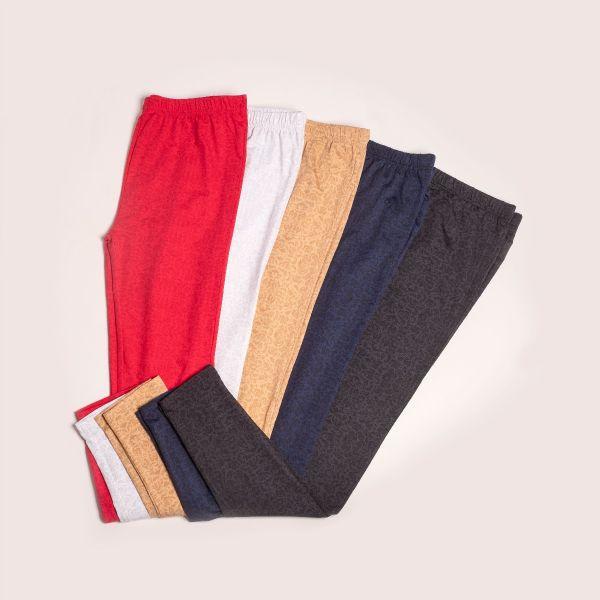 W Dry Soft & Stretch Printed Leggings