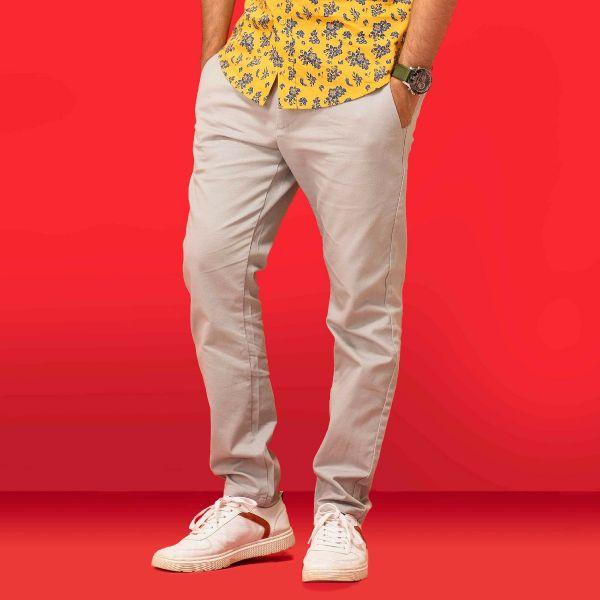 Slim fit Easy Pants B