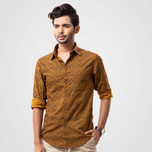 Printed shirt (L) E