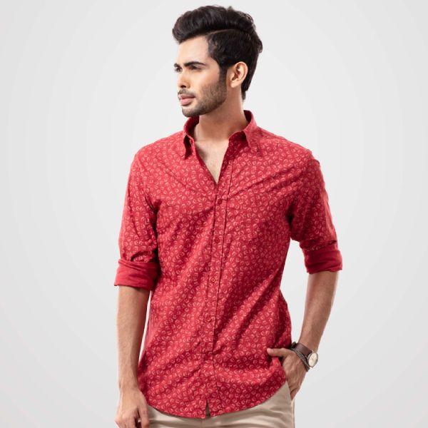 Printed shirt (L) D