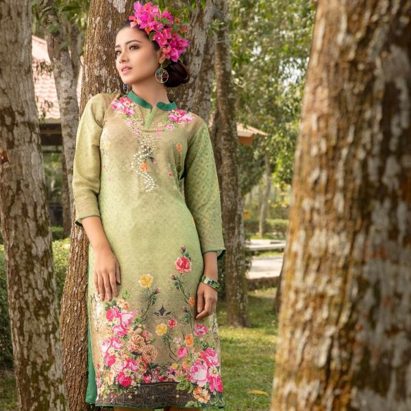 W Digital Printed Kameez B